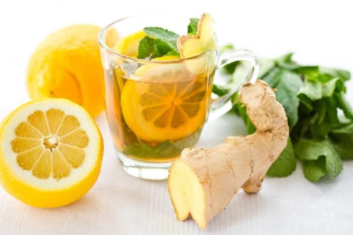 Детокс чай с базиликом