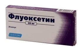 Передозировка флуоксетина в организме