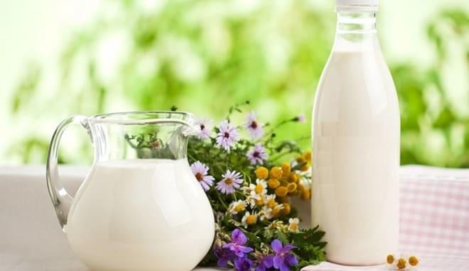 Молоко чистит легкие