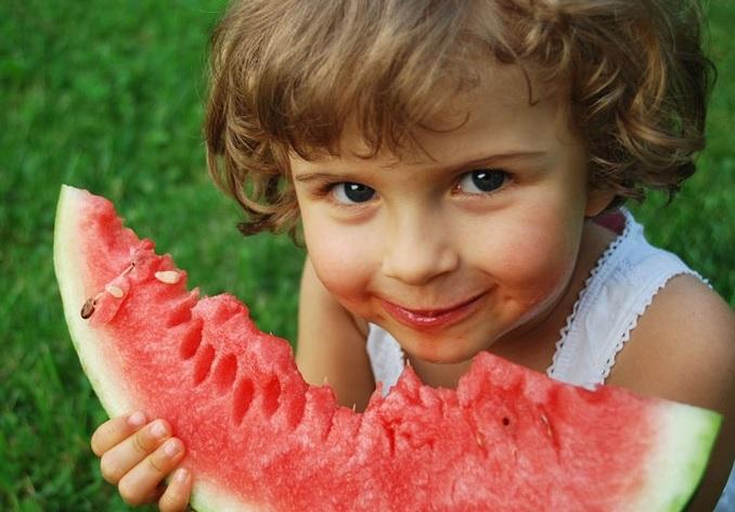 Отравление арбузами у детей