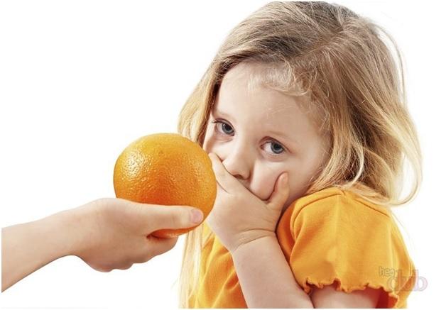 Отравление мандаринами у ребёнка