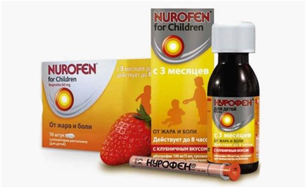 Передозировка Нурофеном у детей