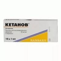 Передозировка препаратом Кетанов