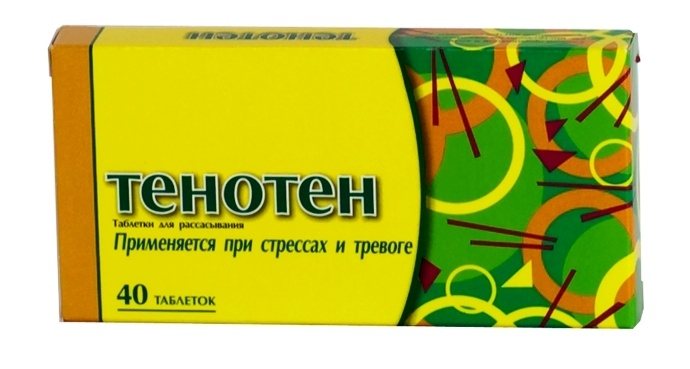 Антидепрессанты с тенотеном