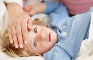 Температура у ребенка при отравлении нафтизином