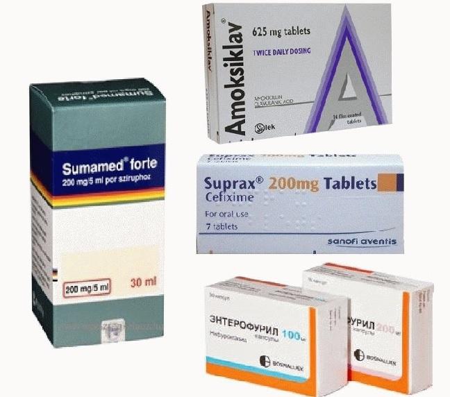 Лекарства от отравления и от кишечных инфекций