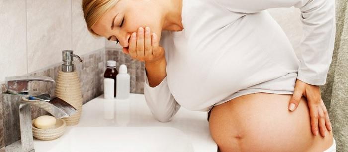 Отравление при беременности на ранних сроках