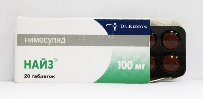 Передозировка таблетками Найз