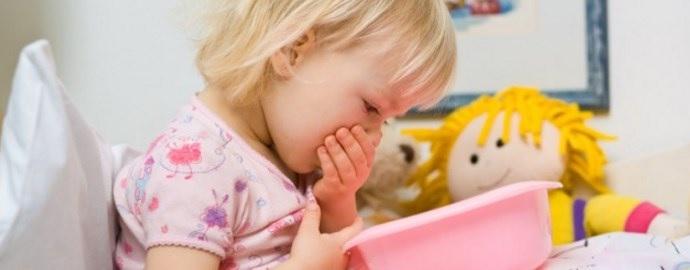 Отравление у ребенка с рвотой